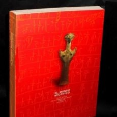 Libros de segunda mano: EL MUNDO MICENICO. CINCO SIGLOS DE LA PRIMERA CIVILIZACION EUROPEA. (1600-1100 AC). MICENAS.. Lote 195507016
