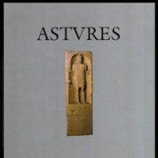 Libros de segunda mano: ASTURES. PUEBLOS Y CULTURAS EN LA FRONTERA DEL IMPERIO ROMANO. 1ª EDICION 1995.. Lote 195510127