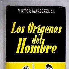 Libros de segunda mano: LOS ORIGENES DEL HOMBRE. Lote 195922706