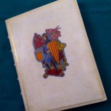 Libros de segunda mano: DON JAIME I EL CONQUISTADOR – MANUEL DE MONTOLIU – ILUSTR JULIÁN NADAL – ORBIS, 1947 – ED NUMERADA. Lote 196221242