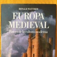 Libros de segunda mano: EUROPA MEDIEVAL. RAÍCES DE LA CULTURA MODERNA. ATLAS CULTURALES DEL MUNDO.. Lote 197179585