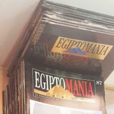 Libros de segunda mano: EGIPTOMANÍA (COMPLETO, 96 FASCÍCULOS + TAPAS + 6 VHS / ED. PLANETA DE AGOSTINI). Lote 197713548