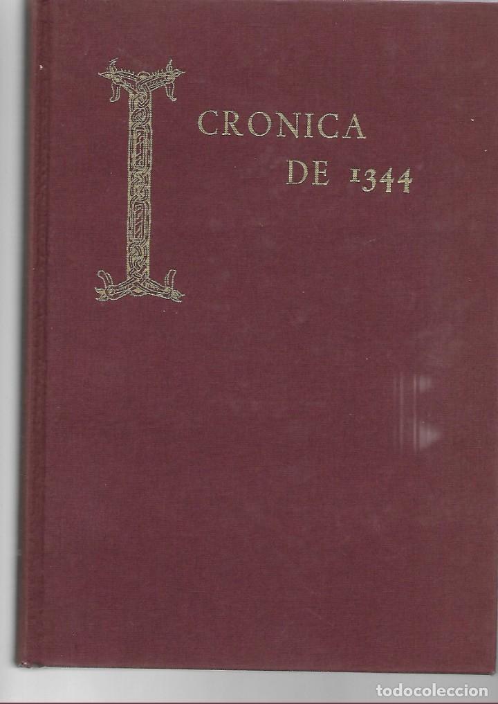 LIBRO SEMINARIO MENENDEZ PIDAL CRONICAS DE 1344 - 358 PAGINAS (Libros de Segunda Mano - Historia Antigua)