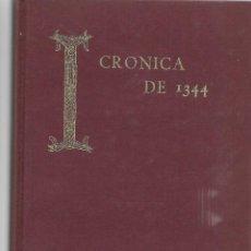 Libros de segunda mano: LIBRO SEMINARIO MENENDEZ PIDAL CRONICAS DE 1344 - 358 PAGINAS. Lote 197844998