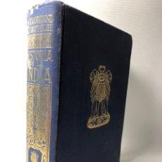 Libros de segunda mano: HISTORIA DE LA INDIA ···W. H. MORELAND Y ATUL CHANDRA CHATTERJEE ···· ED. SURCO ··· 1964. Lote 198195841