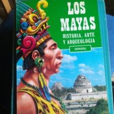 Libros de segunda mano: LOS MAYAS HISTORIA ARTE Y ARQUEOLOGÍA 1995. Lote 198928025