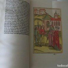 Libros de segunda mano: FACSÍMIL ÍNTEGRO DE LA CRÓNICA DE SUABIA (S. XV), CON GRABADOS EN COLOR. Lote 199163288