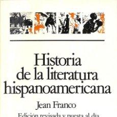 Libros de segunda mano: HISTORIA DE LA LITERATURA HISPANOAMERICANA. Lote 199489048