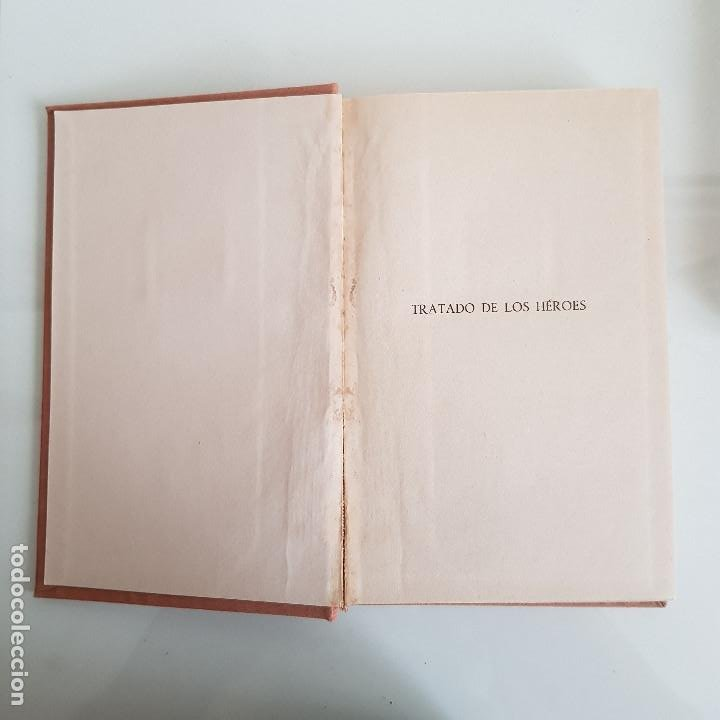 Libros de segunda mano: LIBRO, LOS HÉROES, DE THOMAS CARLYLE - Foto 5 - 199492658