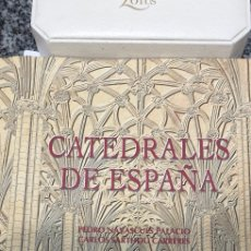 Libros de segunda mano: CATEDRALES DE ESPAÑA ESPASA BBVA COMO NUEVO. Lote 199687626