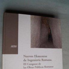 Livros em segunda mão: NUEVOS ELEMENTOS DE INGENIERÍA ROMANA. VV.AA. Lote 199717698