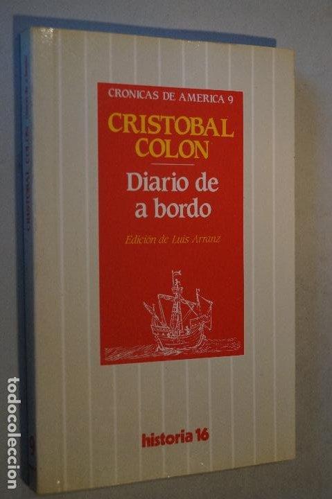 DIARIO DE A BORDO. CRISTOBAL COLON. (Libros de Segunda Mano - Historia Antigua)