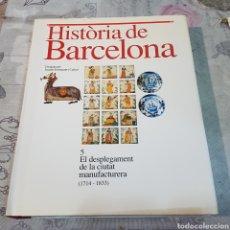Libros de segunda mano: HISTORIA DE BARCELONA. Lote 200101301