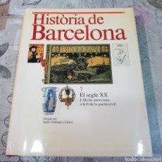Libros de segunda mano: HISTORIA DE BARCELONA. Lote 200101877
