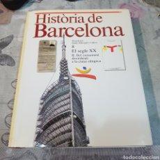 Libros de segunda mano: HISTORIA DE BARCELONA. Lote 200103516