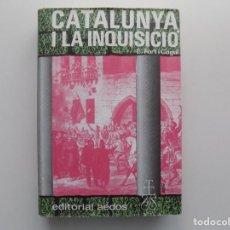 Libros de segunda mano: LIBRERIA GHOTICA. E. FORT I COGUL. CATALUNYA I LA INQUISICIÓ. ED. AEDOS 1973.ILUSTRADO.. Lote 201936348