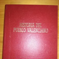 Libros de segunda mano: LIB HISTORIA DEL PUEBLO VALENCIANO 3 TOMOS.. Lote 202351502