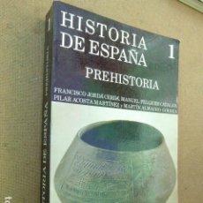 Libros de segunda mano: HISTORIA DE ESPAÑA. PREHISTORIA. 1. GREDOS, 1986. 551 PP. ILUSTRADO.. Lote 236751395