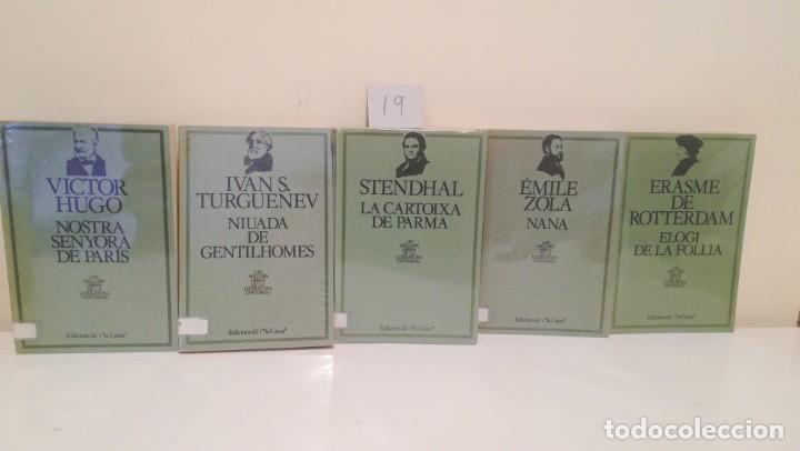 LOTE DE 5 LIBROS EDICIONS 62 I LA CAIXA (Libros de Segunda Mano - Historia Antigua)