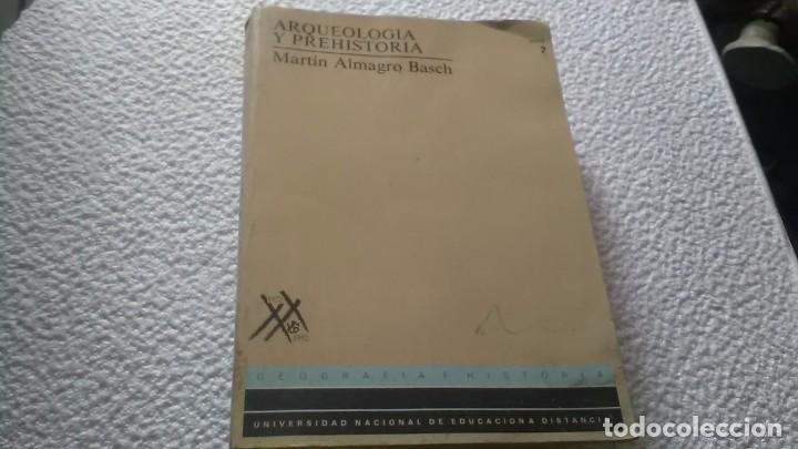 PREHISTORIA Y ARQUEOLOGÍA EN LA PENÍNSULA IBERICA (Libros de Segunda Mano - Historia Antigua)