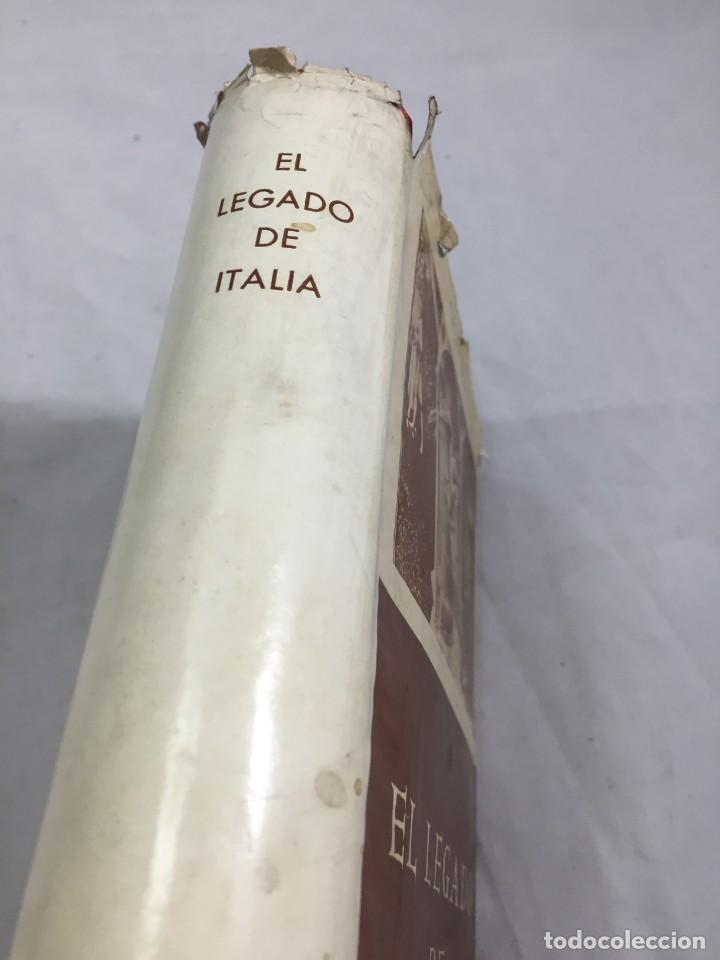 Libros de segunda mano: El legado de Italia. Giuseppe Prezzolini. Pegaso 1955 - Foto 3 - 202844198