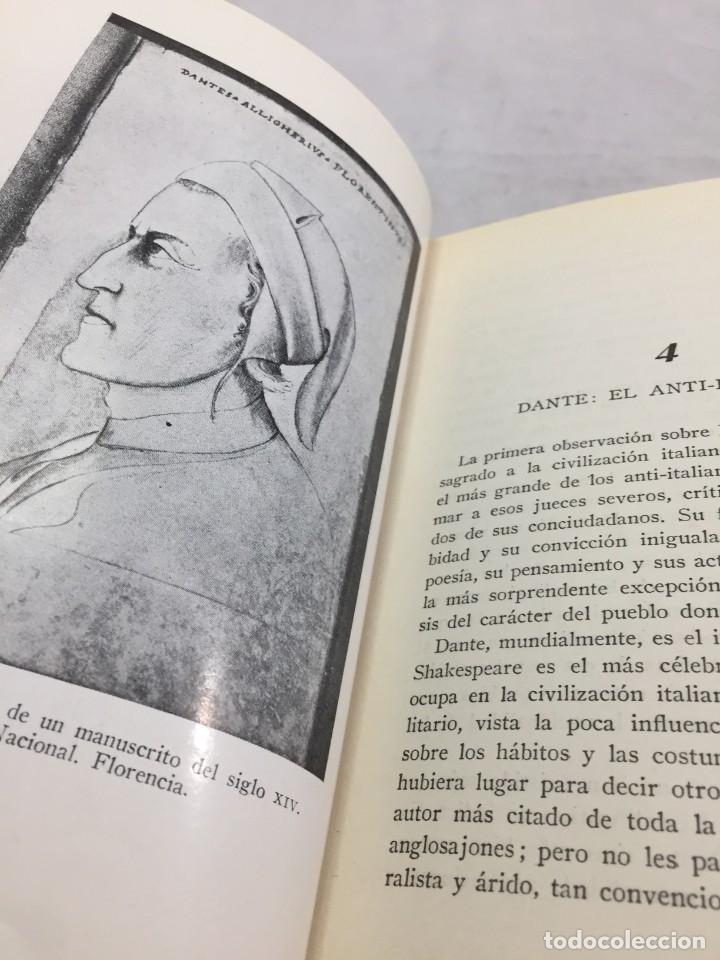 Libros de segunda mano: El legado de Italia. Giuseppe Prezzolini. Pegaso 1955 - Foto 5 - 202844198