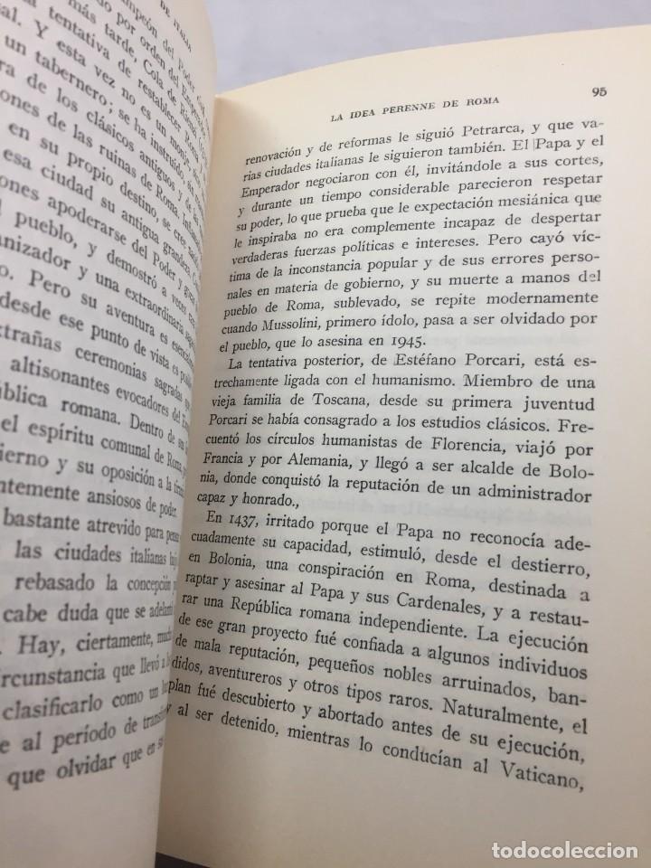 Libros de segunda mano: El legado de Italia. Giuseppe Prezzolini. Pegaso 1955 - Foto 8 - 202844198