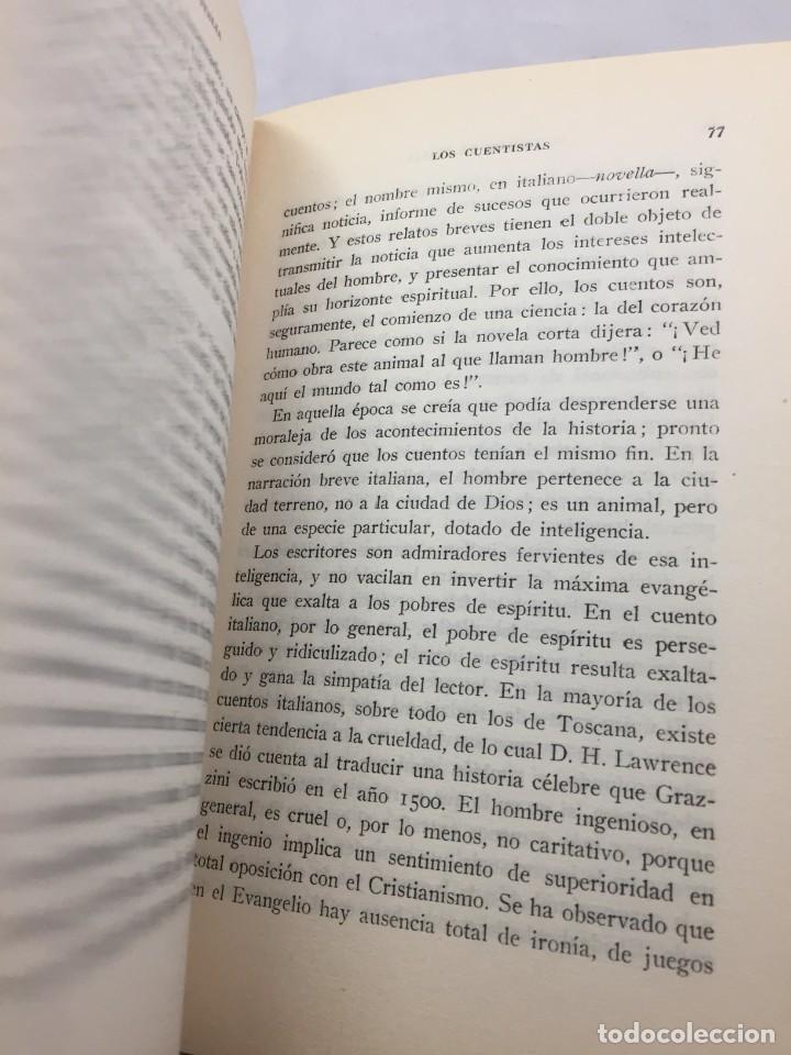 Libros de segunda mano: El legado de Italia. Giuseppe Prezzolini. Pegaso 1955 - Foto 10 - 202844198
