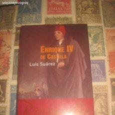 Libros de segunda mano: ENRIQUE IV DE CASTILLA.. SUÁREZ (LUIS) BARCELONA, EDITORIAL ARIEL, OCASION. Lote 202875702
