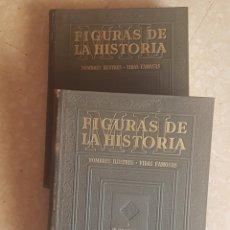 Libros de segunda mano: MIL FIGURAS DE LA HISTORIA 2 TOMOS INSTITUTO GALLACH 1944. Lote 203131623