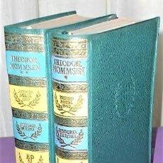 Libros de segunda mano: HISTORIA DE ROMA. DOS TOMOS. Lote 203794410