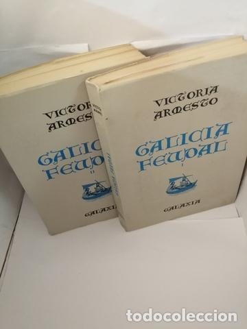 GALICIA FEUDAL, VOLS I Y II: COMPLETO (Libros de Segunda Mano - Historia Antigua)