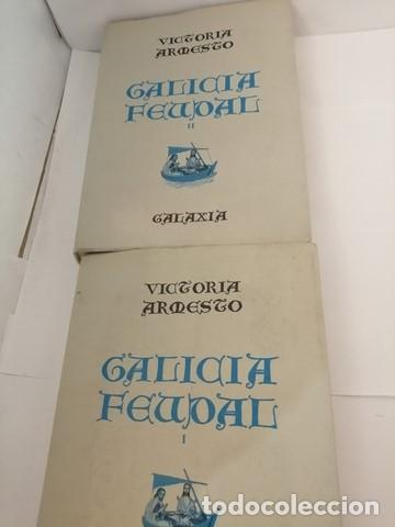 Libros de segunda mano: GALICIA FEUDAL, VOLS I Y II: Completo - Foto 2 - 204966653