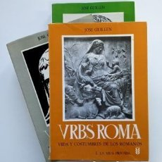 Libros de segunda mano: URBS ROMA (I-II-II).- JOSÉ GUILLÉN (1980). Lote 205313871