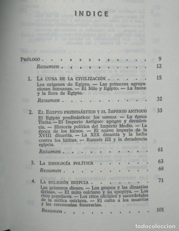 Libros de segunda mano: EL ANTIGUO EGIPTO. M. BELTRAN DEL ALISAN - Foto 5 - 205509692