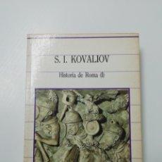 Libros de segunda mano: HISTORIA DE ROMA (I). Lote 205611957