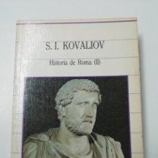 Libros de segunda mano: HISTORIA DE ROMA (II). Lote 205611976