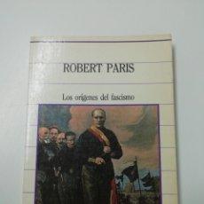 Libros de segunda mano: LOS ORÍGENES DEL FASCISMO. Lote 205611983