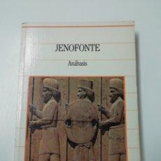 Libros de segunda mano: ANÁBASIS... BIBLIOTECA DE LA HISTORIA.. Lote 205612057