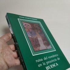 Libros de segunda mano: RUTAS DEL ROMÁNICO EN LA PROVINCIA DE HUESCA. CAYETANO ENRIQUEZ DE SALAMANCA. Lote 205674155
