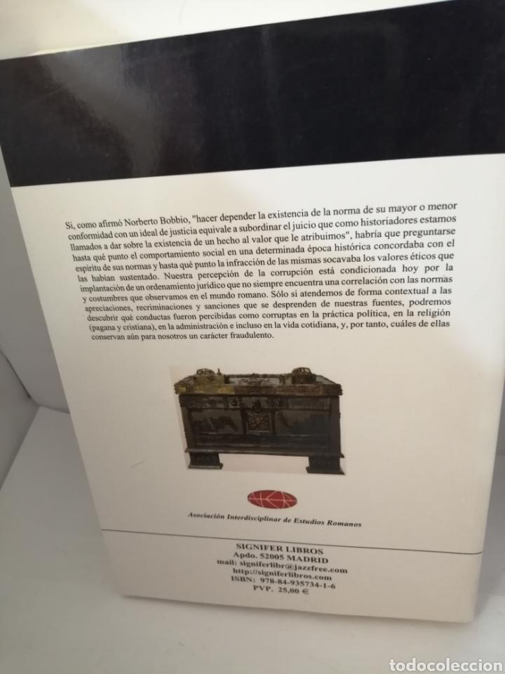 Libros de segunda mano: La corrupción en el mundo romano - Foto 2 - 205688260