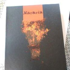 Libros de segunda mano: EDICION ESPECIAL LIBRO MARARIA RAFAEL AROZARENA FIRMADO DE MANO ENCAJADA NUMERO 0680. Lote 205790268