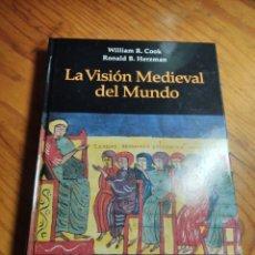 Libros de segunda mano: W. COOK. R. HERZMAN. LA VISIÓN MEDIEVAL DEL MUNDO. ED VICENS VIVES 2000. Lote 205867542