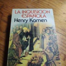 Libros de segunda mano: LA INQUISICION ESPAÑOLA - HENRY KAMEN - GRIJALBO. Lote 205868392