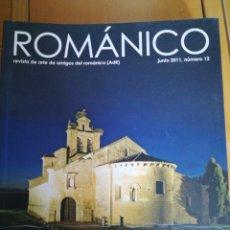 Libros de segunda mano: ROMANICO. REVISTA DE AMIGOS DEL ROMANICO Nº 13 DIC 2011 IN 4 PROLONGADO 80 PP. MUY ILUSTRADA. Lote 206146912