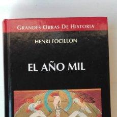 Libros de segunda mano: EL AÑO MIL. AUTOR: HENRI FOCILLON. Lote 206162708
