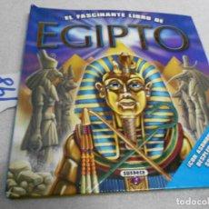 Libros de segunda mano: EL FASCINANTE LIBRO DE EGIPTO CON DESPLEGABLES. Lote 206163092