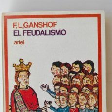 Libros de segunda mano: EL FEUDALISMO. AUTOR: F. L. GANSHOF. Lote 206169907