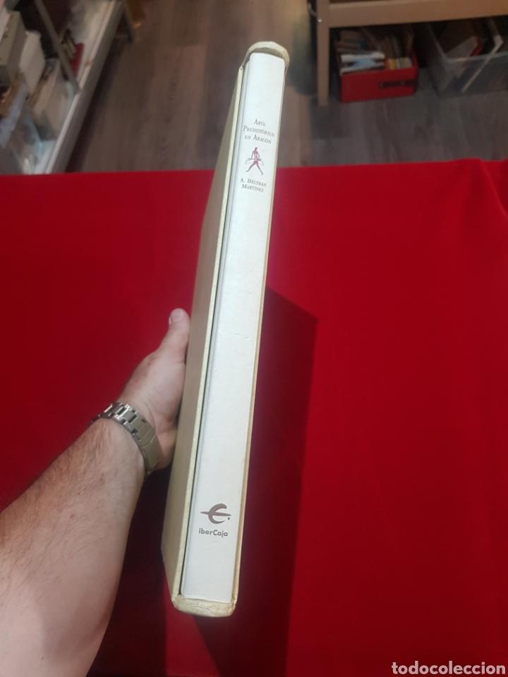 Libros de segunda mano: Libro arte prehistórico en Aragón de don Antonio Beltrán Martínez muy buen estado - Foto 2 - 206780615
