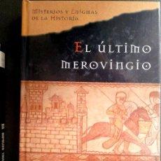 Libros de segunda mano: EL ÚLTIMO MEROVINGIO DE JIM HOUGAN. EDITORIAL PLANETA DEAGOSTINI.. Lote 206895967